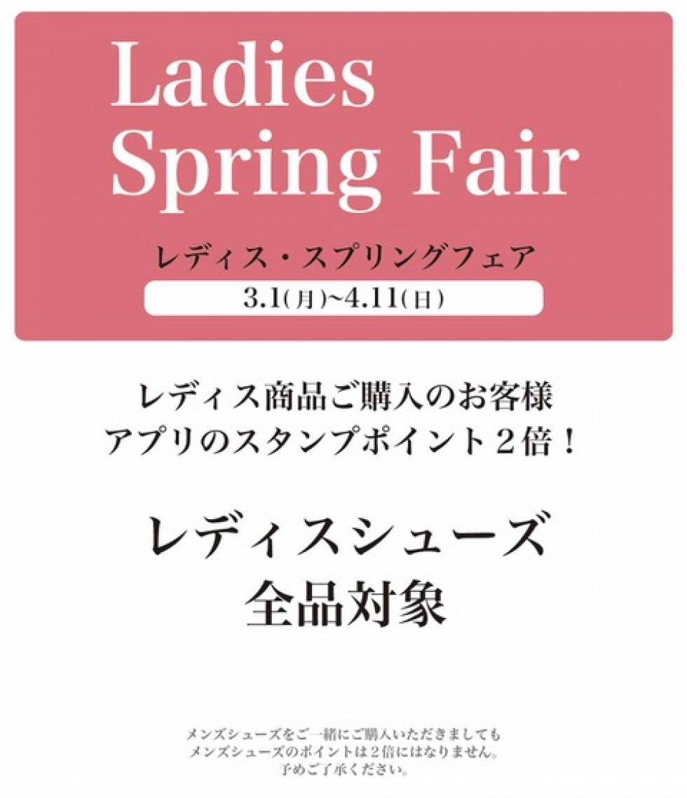 Ladies Spring Fair