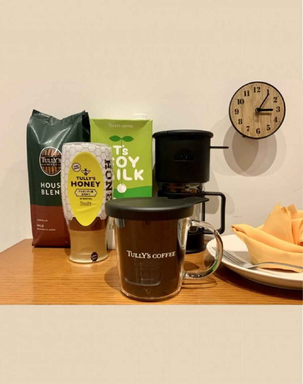 ドリップマスター/ワンカップコーヒーメーカー/タリーズハウスブレンド/タリーズソイミルク/タリーズハニー